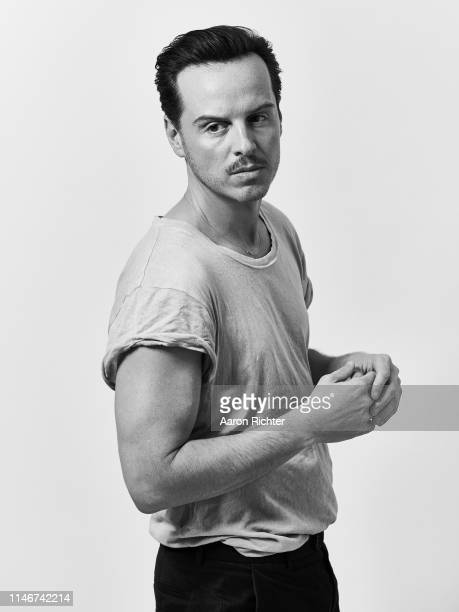Actor Andrew Scott is photographed for New York Times on April 25 2019 in New York City