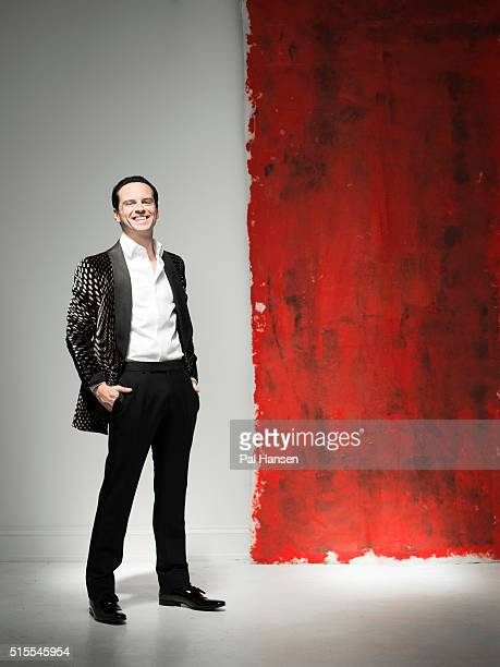 Actor Andrew Scott is photographed for the Observer on July 10 2015 in London England