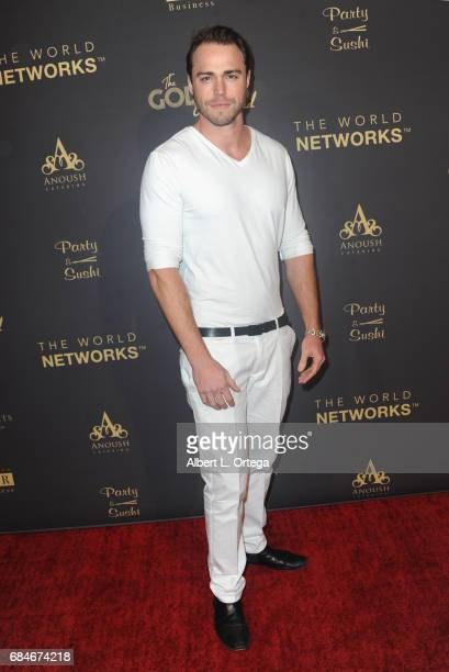 Actor Andrew Steel arrives for The World Networks Presents Launch Of The Goddess Empowered held at Brandview Ballroom on May 17 2017 in Glendale...