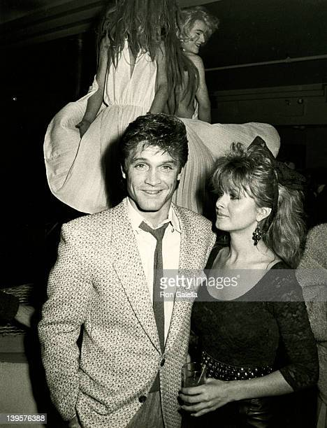 Actor Andrew Stevens and date Cathy St George attend the opening performance for Marilyn in New York City