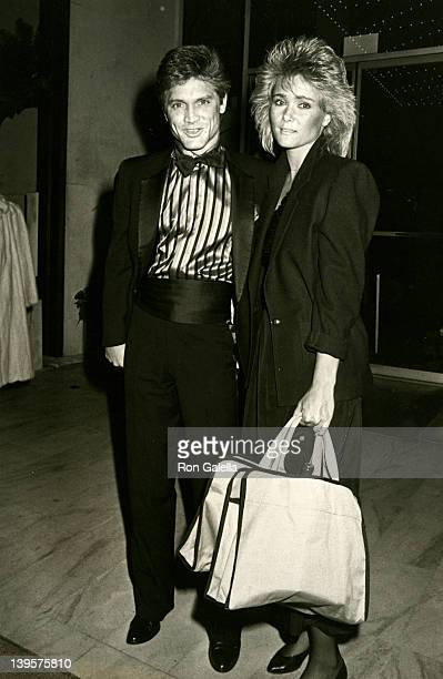 Actor Andrew Stevens and date Cathy St James sighted on November 27 1984 at the Century Plaza Hotel in Century City California