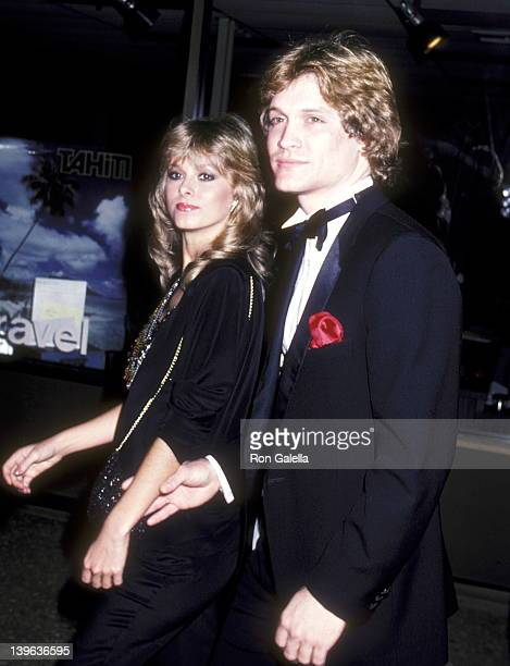 Actor Andrew Stevens and model Cathy St George attend the 1982 Los Angeles International Film Exposition Opening Night with Special Screening of...