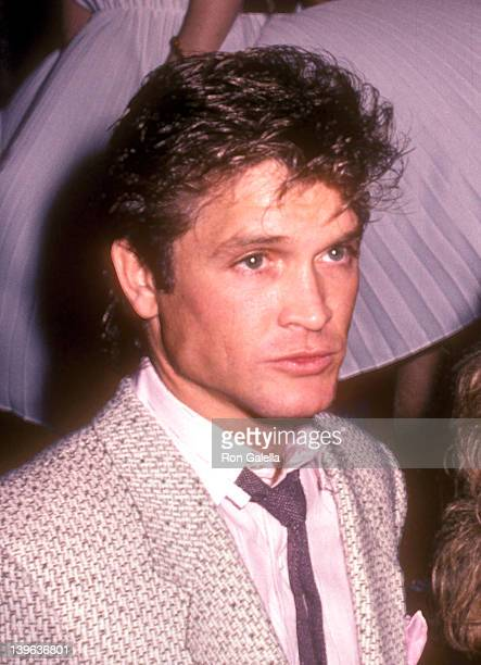 Actor Andrew Stevens attends British Pop Singer Marilyn's Opening Night Performance on February 20 1985 at Area in New York City
