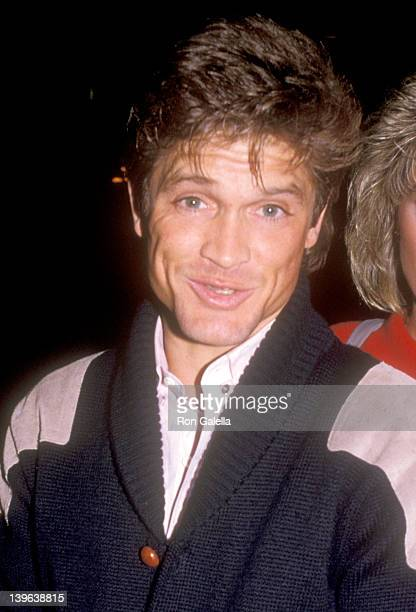 Actor Andrew Stevens attends the 42nd Annual Golden Globe Awards Rehearsals on January 26 1985 at Beverly Hilton Hotel in Beverly Hills California