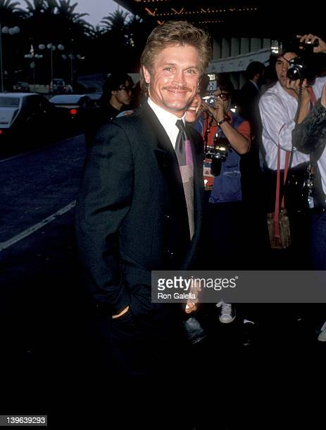 Actor Andrew Stevens attends the ABC Television Affiliates Party on June 14 1989 at Century Plaza Hotel in Los Angeles California