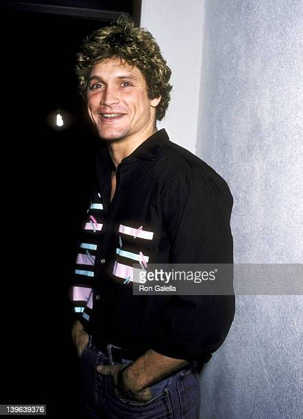 Actor Andrew Stevens attends the Billy Budd Opening Night Party on January 22 1984 at Santopietro's Pizzeria in Calabasas California