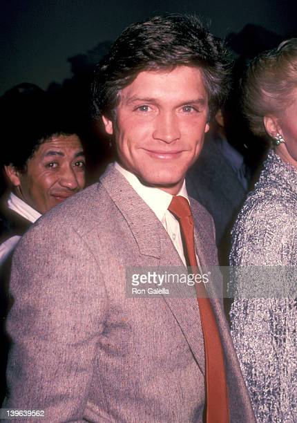 Actor Andrew Stevens attends the Celebrity Art Exhibition Gala Opening and Cocktail Reception on March 14 1983 at the Century Plaza Gallery Century...