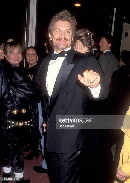 Actor Andrew Stevens attends the Guys Dolls Opening Night Performance on November 11 1993 at Pantages Theatre in Hollywood California