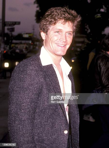 Actor Andrew Stevens attends the Legs West Hollywood Premiere on April 26 1983 at DGA Theatre in West Hollywood California