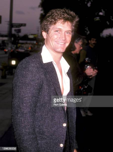Actor Andrew Stevens attends the 'Legs' West Hollywood Premiere on April 26 1983 at DGA Theatre in West Hollywood California