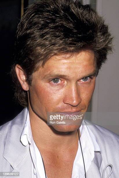 Actor Andrew Stevens attends the New Hope for Animals Foundation Benefit on June 21 1987 at a private estate in Beverly Hills California