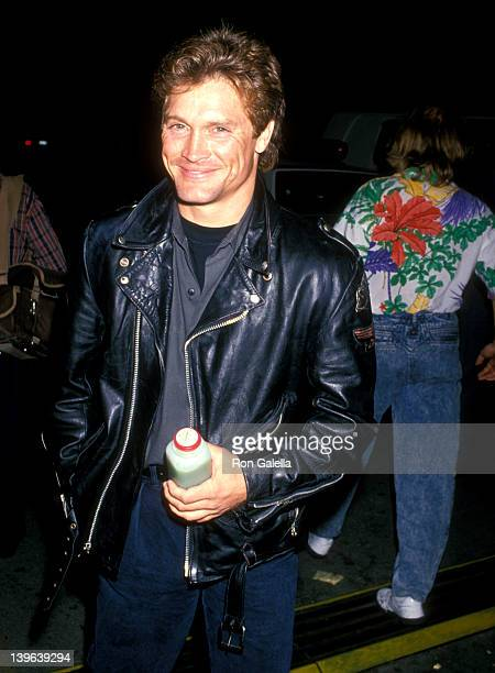 Actor Andrew Stevens attends the Opening Night Performance of Le Cique du Soleil's 'La Magie Continue' on September 20 1989 at Santa Monica Pier in...