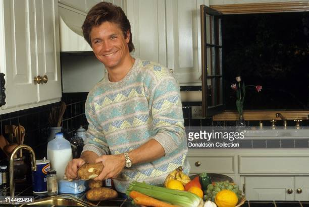 Actor Andrew Stevens poses for a portrait in 1985 in Los Angeles California