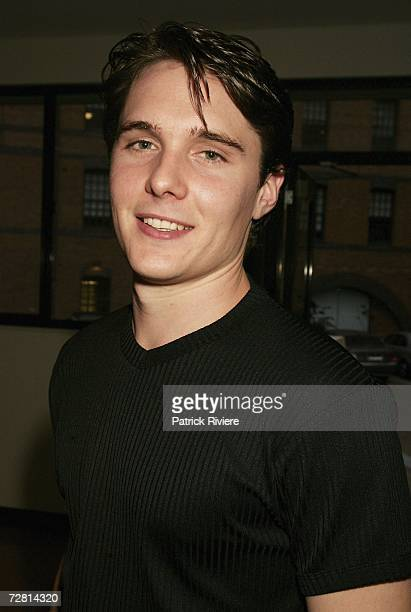 Actor Andrew Supanz attends the Channel Seven Christmas drinks party in Pyrmont on December 13 2006 in Sydney Australia