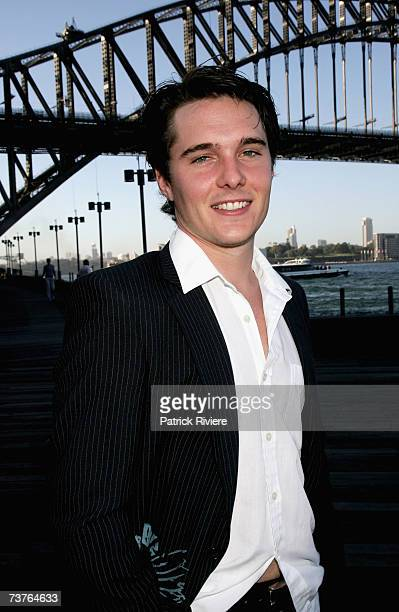 Actor Andrew Supanz attends the nominations announcement for the 2007 TV Week Logie Awards at Luna Park on April 2 2007 in Sydney Australia The 2007...