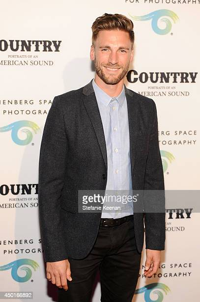 Actor Andrew W Walker attends the Annenberg Space for Photography Opening Celebration for 'Country Portraits of an American Sound' at the Annenberg...