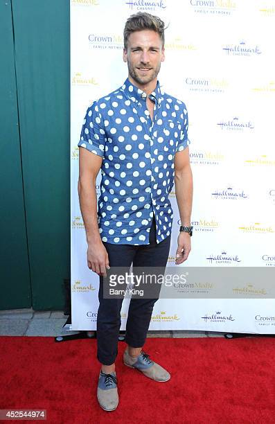Actor Andrew W Walker attends the Hallmark Channel and Hallmark Movie Channel's 2014 Summer TCA Party on July 8 2014 in Beverly Hills California