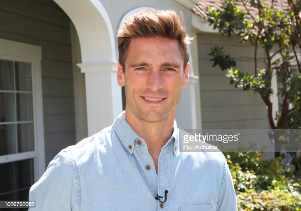 Actor Andrew W Walker visit Hallmark's 'Home Family' at Universal Studios Hollywood on September 4 2018 in Universal City California