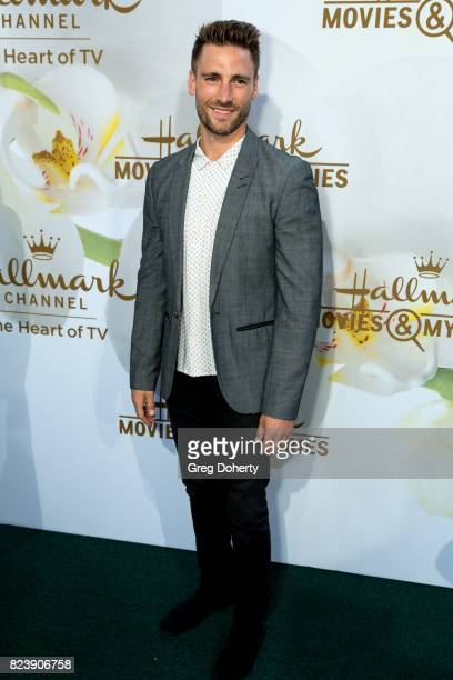 Actor Andrew Walker arrives for the 2017 Summer TCA Tour Hallmark Channel And Hallmark Movies And Mysteries on July 27 2017 in Beverly Hills...