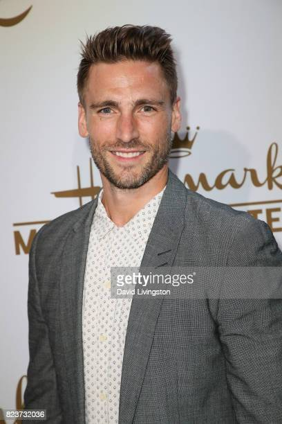 Actor Andrew Walker attends the Hallmark Channel and Hallmark Movies and Mysteries 2017 Summer TCA Tour on July 27 2017 in Beverly Hills California