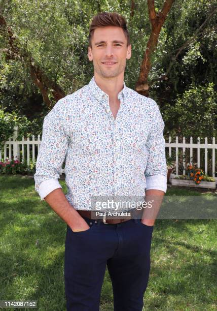 Actor Andrew Walker visits Hallmark's Home Family at Universal Studios Hollywood on April 11 2019 in Universal City California