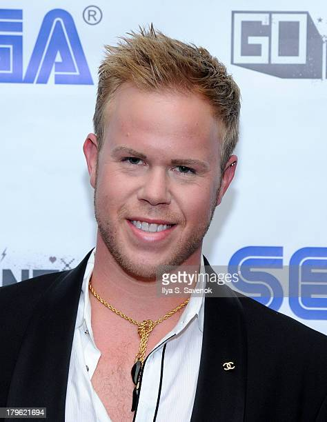 Actor Andrew Werner attends Sega GO DANCE mobile game unveil party at STK Midtown on September 5 2013 in New York City