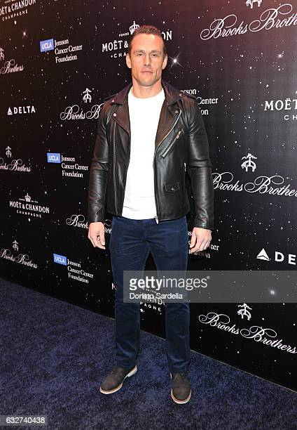 Actor Andrey Ivchenko attends Le Casino night hosted by Brooks Brothers in Beverly Hills to benefit UCLA Jonsson Cancer Center Foundation at Brooks...