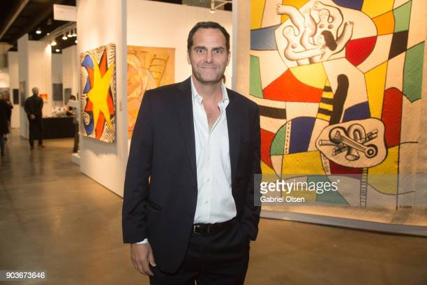 Actor Andy Buckley attends the 23rd Annual LA Art Show Opening Night Premiere Gala Benefiting St Jude Children's Research Hospital at Los Angeles...