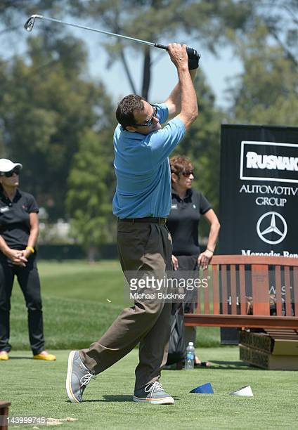 Actor Andy Buckley attends the 5th Annual George Lopez Celebrity Golf Classic to Benefit The Lopez Foundation at Lakeside Golf Club on May 7 2012 in...