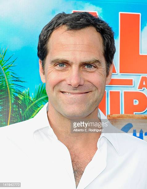 Actor Andy Buckley attends Twentieth Century Fox Home Entertainment's Alvin and the Chipmunks Chipwrecked Bluray and DVD release party at El Rey...