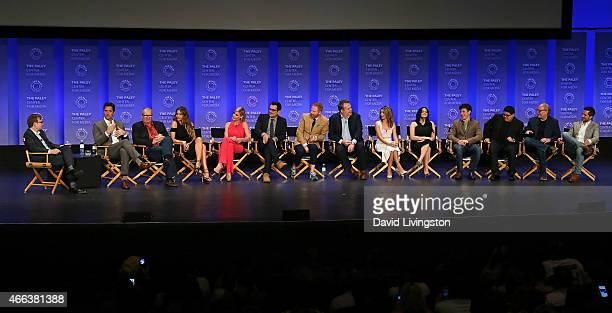 Actor Andy Daly executive producer Steven Levitan actors Ed O'Neill Sofia Vergara Julie Bowen Ty Burrell Jesse Tyler Ferguson Eric Stonestreet Sarah...
