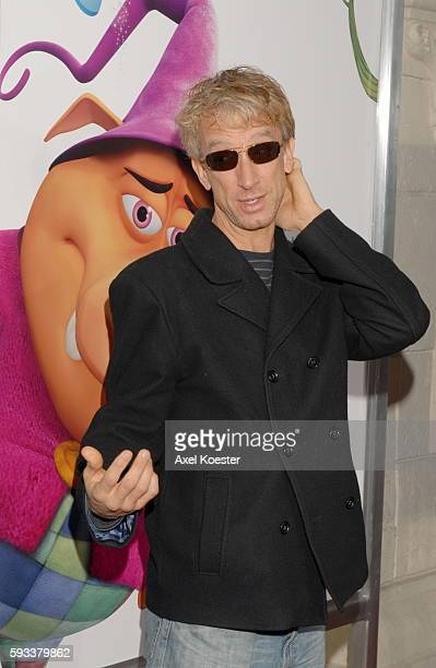 Actor Andy Dick arrives at the Los Angeles premiere of the movie 'Happily N'Ever After' at Mann's Festival Theater in Westwood