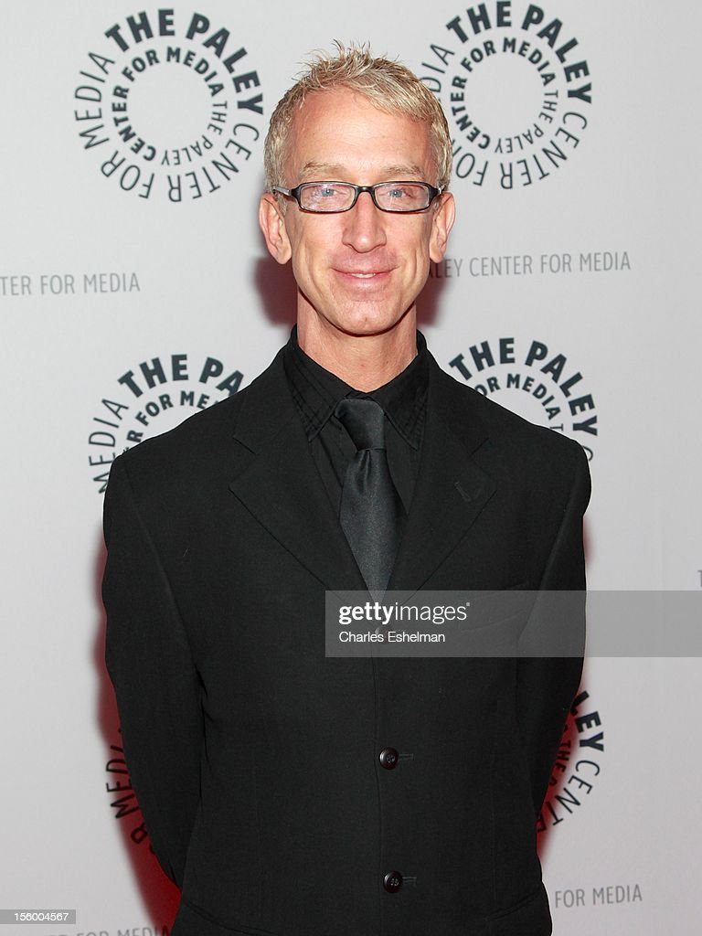 Actor Andy Dick attends 'Oddly Familiar: A Ben Stiller Show Reunion' at the Paley Center For Media on November 10, 2012 in New York City.