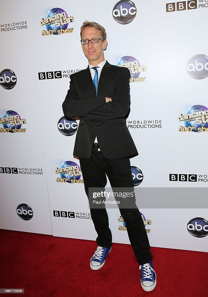 Actor Andy Dick attends the 'Dancing With The Stars' 300th episode after party on May 14, 2013 in Los Angeles, California.