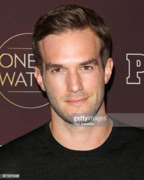 Actor Andy Favreau attends People's 'Ones To Watch' party at NeueHouse Hollywood on October 4 2017 in Los Angeles California