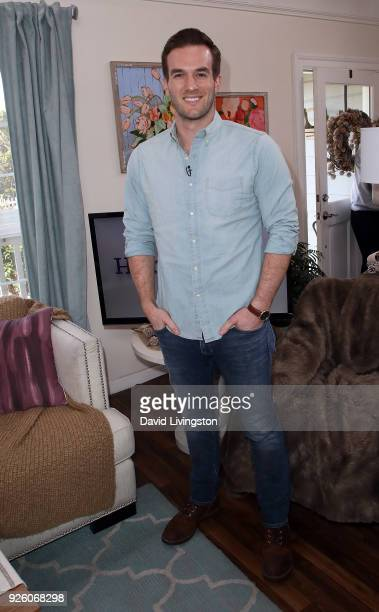 Actor Andy Favreau visits Hallmark's 'Home Family' at Universal Studios Hollywood on March 1 2018 in Universal City California