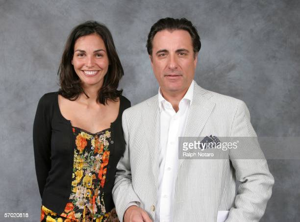 Actor Andy Garcia and actress Ines Sastre pose for photos during the Miami International Film Festival at the National Hotel March 7 2006 in Miami...