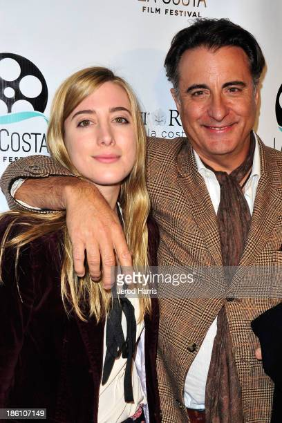 Actor Andy Garcia and daughter Alessandra GarciaLorido attend La Costa Film Festival Closing Night Red Carpet Gala For 'At Middleton' at Omni La...