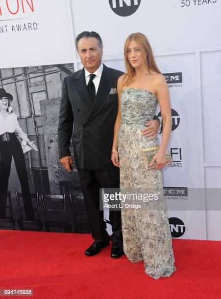 Actor Andy Garcia and daughter Daniella GarciaLorido arrive for the AFI Life Achievement Award Gala Tribute To Diane Keaton held on June 8 2017 in...