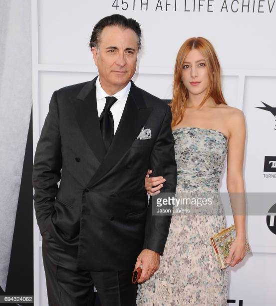 Actor Andy Garcia and daughter Daniella GarciaLorido attend the AFI Life Achievement Award gala at Dolby Theatre on June 8 2017 in Hollywood...