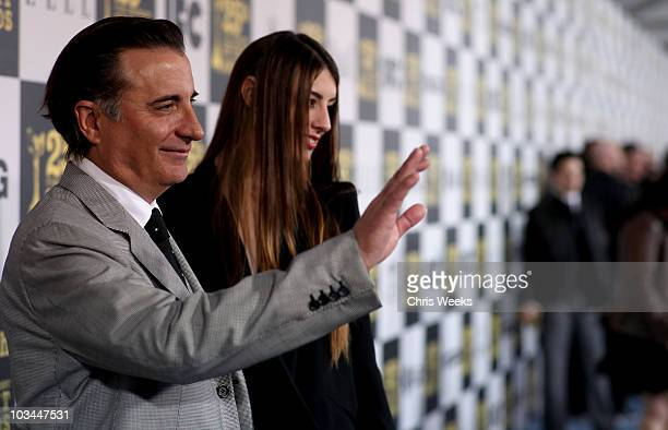 Actor Andy Garcia and Dominik GarciaLorido attend the 25th Independent Spirit Awards Hosted By Jameson Irish Whiskey held at Nokia Theatre LA Live on...