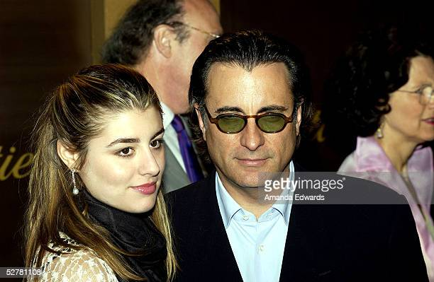 Actor Andy Garcia and his wife Marivi arrive at the re-opening and 25th anniversary of Cartier Beverly Hills at the Cartier boutique on Rodeo Drive...