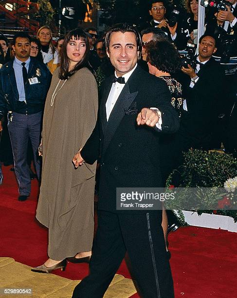 Actor Andy Garcia and his wife Marivi Lorido Garcia arrive at the 1991 Academy Awards�� This photo appears in Frank Trapper's RED CARPET book on page...