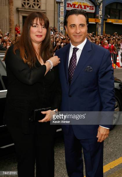Actor Andy Garcia and wife Marivi Lorido Garcia arrive to the Warner Bros premiere of the film Ocean's 13 at Grauman's Chinese Theatre on June 5 2007...