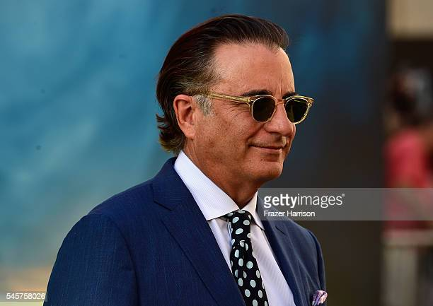 Actor Andy Garcia arrives at the Premiere of Sony Pictures' Ghostbusters at TCL Chinese Theatre on July 9 2016 in Hollywood California