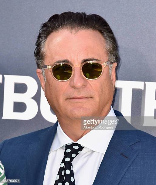 Actor Andy Garcia arrives at the Premiere of Sony Pictures' 'Ghostbusters' at TCL Chinese Theatre on July 9 2016 in Hollywood California