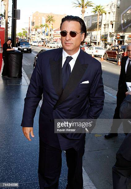 Actor Andy Garcia arrives to the 35th AFI Life Achievement Award tribute to Al Pacino held at the Kodak Theatre on June 7 2007 in Hollywood California