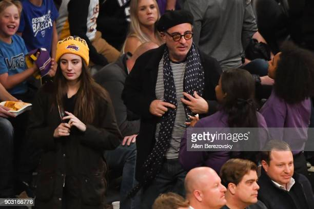 Actor Andy Garcia attends a basketball game between the Los Angeles Lakers and the Sacramento Kings at Staples Center on January 9 2018 in Los...
