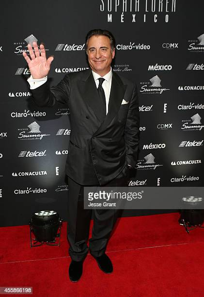 Actor Andy Garcia attends Sophia Loren's 80th Birthday Celebration held at The Museo Soumaya on September 20 2014 in Mexico City Mexico