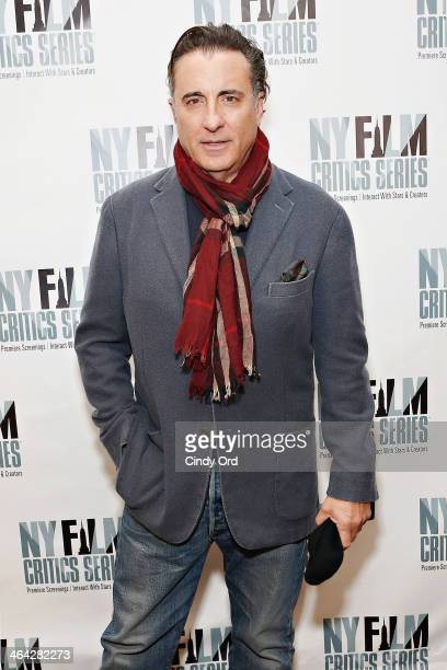 Actor Andy Garcia attends the 'At Middleton' screening presented by the New York Film Critics Series at AMC Empire 25 theater on January 21 2014 in...